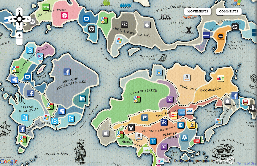 New New Maps of the Internet Stephen 39 s Lighthouse